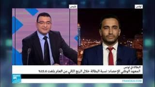 تونس: نسبة البطالة تصل إلى 15,6%