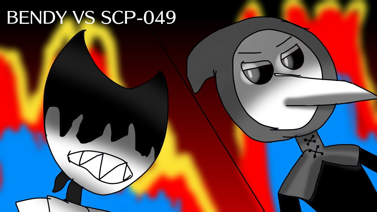 Bendy Vs Scp 049 Parte 1 Youtube