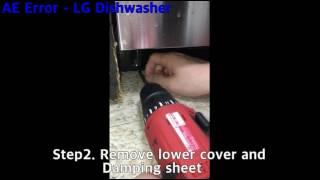AE Error - LG Dishwasher - LDF5545