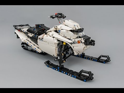moc lego technic snowmobile with sbrick 4k youtube. Black Bedroom Furniture Sets. Home Design Ideas