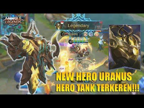 NEW HERO URANUS! SUMPAH INI TANK TERKEREN YANG PERNAH ADA - SKILLNYA DEWA BANGET!