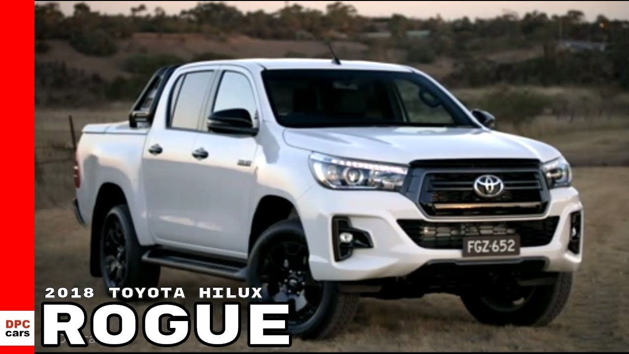 2018 toyota hilux rogue youtube. Black Bedroom Furniture Sets. Home Design Ideas