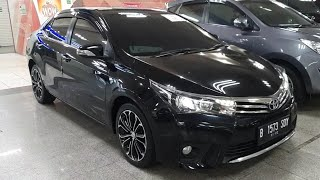 Toyota Corolla Altis 1.8 V A/T 2015 In Depth Review Indonesia