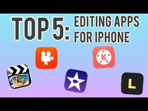 Top 5 Video editing apps for iPhone | Tech Videos | Kayla's World