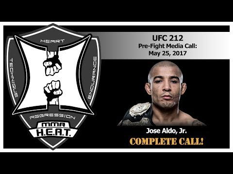 UFC 212: Champ Jose Aldo Talks Holloway Fight On Media Conference Call (FULL)