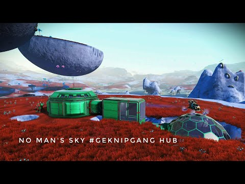 No Man's Sky. Creative. Getting to the GNG Hub!