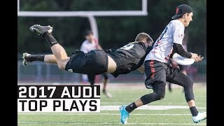 2017 AUDL Top Team Plays