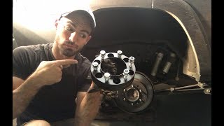 How To Install Wheel Spacers / Adapters The Correct Way ! - JN53