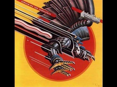 Judas Priest - Screaming For Vengeance (Full 1982 Canadian release) Lyrics on screen