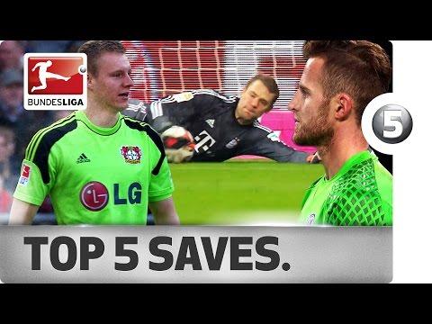 The Bundesliga's Penalty Killers - Manuel Neuer, Bernd Leno & Co.