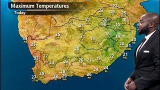 SA #Weather forecast | 16 May 2018