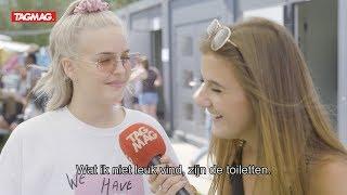 Gaat Anne-Marie ook op een festivaltoilet op Rock Werchter?