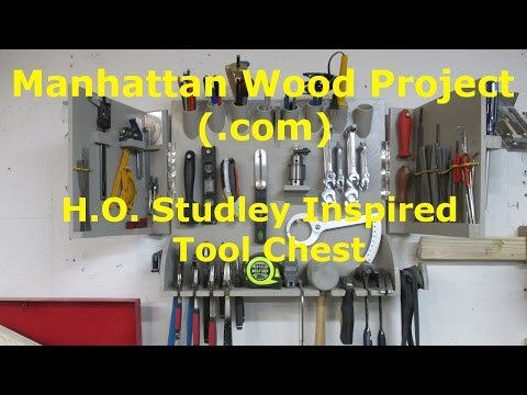 20 - H.O. Studley Inspired Tool Chest - Cut List Challenge -
