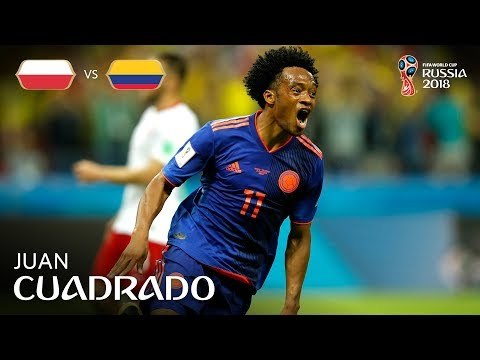 Juan CUADRADO Goal - Poland v Colombia - MATCH 31