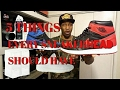 5 THINGS EVERY SNEAKERHEAD SHOULD HAVE