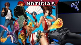 Playstation 4 Slim Falso, Clash of Clans no Super Bowl, The King of Fighters UM na Steam e mais