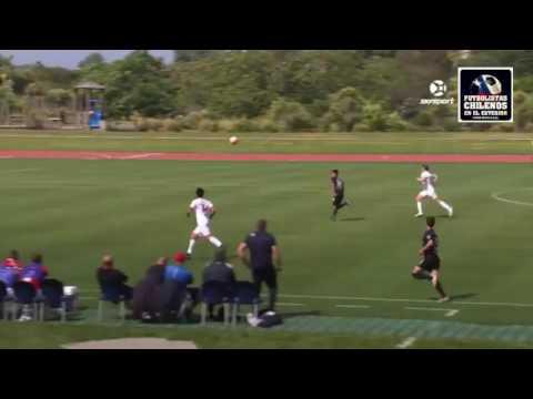 Waitakere United 0-2 Team Wellington, Gol de Nicolas Zambrano (TW)