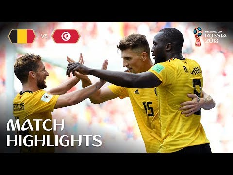 Belgium v Tunisia - 2018 FIFA World Cup Russia™ - Match 29