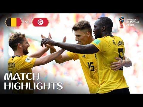 La goleada de Bélgica a Túnez