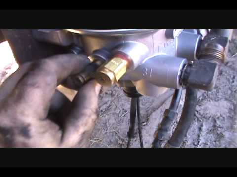 Mack Truck Air Dryer Replacement Youtube