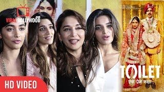Bollywood Celebrity Review | Toilet Ek Prem Katha Review | Madhuri Dixit, Pooja Hegde, Kriti Sanon