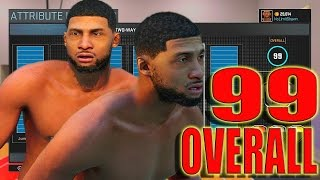 NBA 2K16 PS4 - IM A 99 OVERALL 6'5 PG SCORING MACHINE | Attributes , Signature Styles , Badges