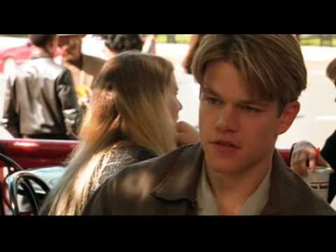 Good Will Hunting Scene, I could always just play