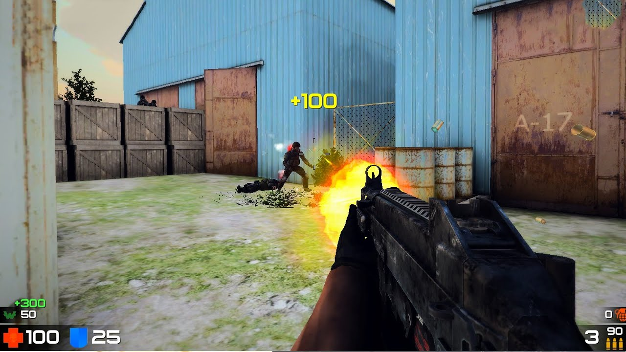 Top 5 online multiplayer fps/tps games of android - YouTube