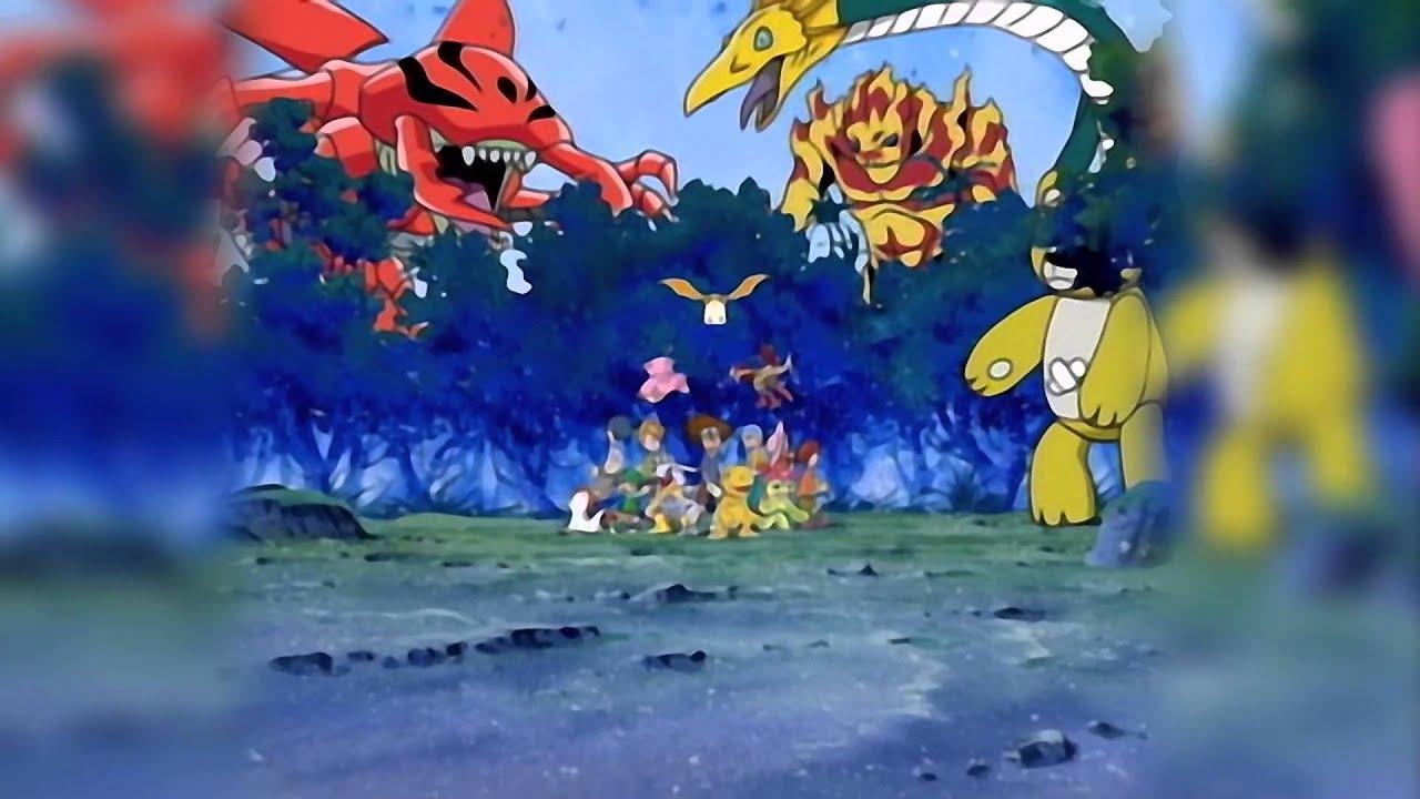 デジモンアドベンチャー Digimon Adventure Op Butterfly 和田光司 Youtube