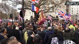Brexit Betrayal march in London