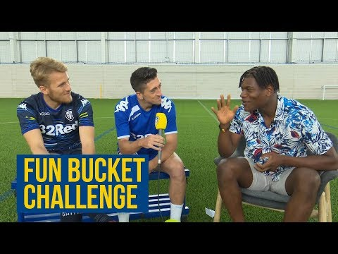 MESSI VS RONALDO?! ⚽️ SAMU AND PABLO TAKES ON THE FUN BUCKET CHALLENGE