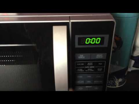 Sharp microwave with grill