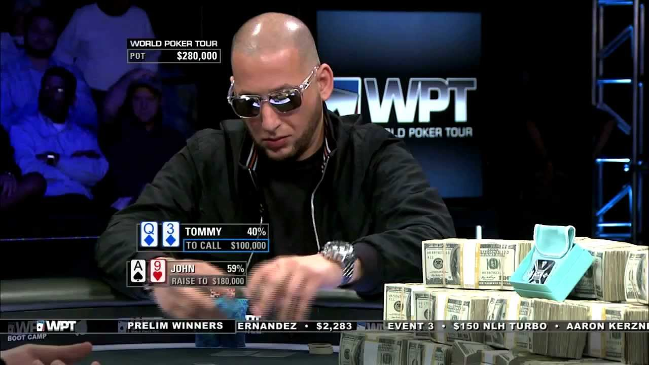 show tommy poker games