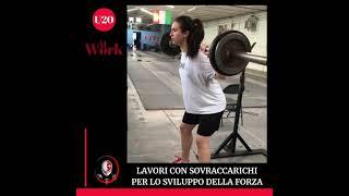 Pisascherma At Work: U20 LAVORI CON SOVRACCARICHI PER LO SVILUPPO DELLA FORZA
