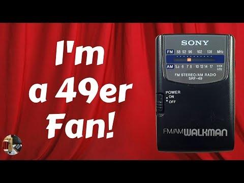 Sony SRF-49 AM FM Portable Radio Review