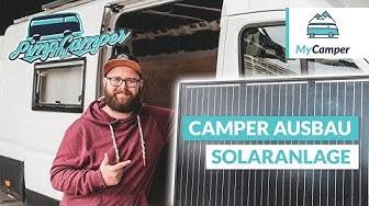 Camper Ausbau: Solaranlage montieren + anschliessen 🔆🔌(Neu)