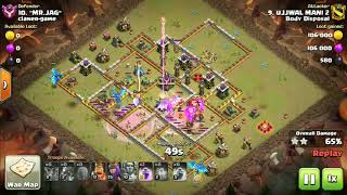 Electro Dragon (COC new updated) attack on max Town Hall 11 base ---- Live war attack strategy