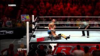 WWE 12 Inside the Ring - CM Punk vs John Cena - FULL CHAMPIONSHIP MATCH