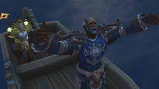 The Story of How The Kul Tirans Join the Alliance as an Allied Race - Patch 8.1.5 [Stream Highlight]