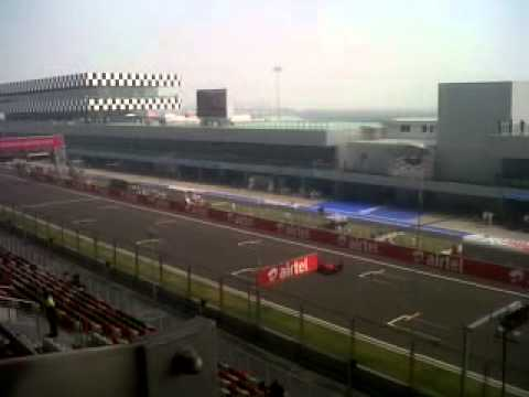 F2 Cars on MRF challenge at Delhi F1 2012