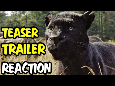 Nerds REACT to THE JUNGLE BOOK OFFICIAL US TEASER TRAILER!