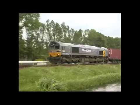The Class 66 at work in the UK & Europe (1999-2013) - preview