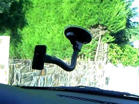Soporte Genérico de coche para Móvil iPod PSP PDA GPS IPAQ - YouTube ba3eb769a3df