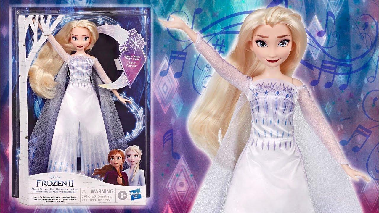 Frozen Royal Disney Reveal Elsa doll 2 en 1 Costume