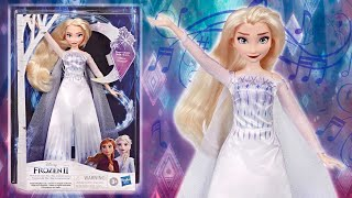 "Frozen 2: Snow Queen Elsa ""Show Yourself"" Musical Adventure Singing doll by Hasbro"