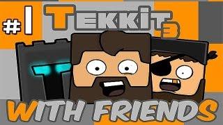 Minecraft: Tekkit With Friends Ep.1 - Mining, Mining, MINING!