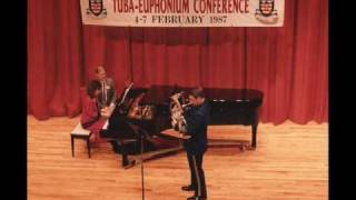 Dave Werden, Spinning Song, Euphonium Solo