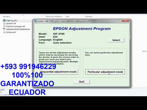 Epson WF-2760 Adjprog tagged videos on VideoHolder