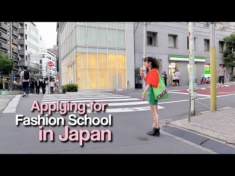 Applying for Fashion School in Japan - by Christina