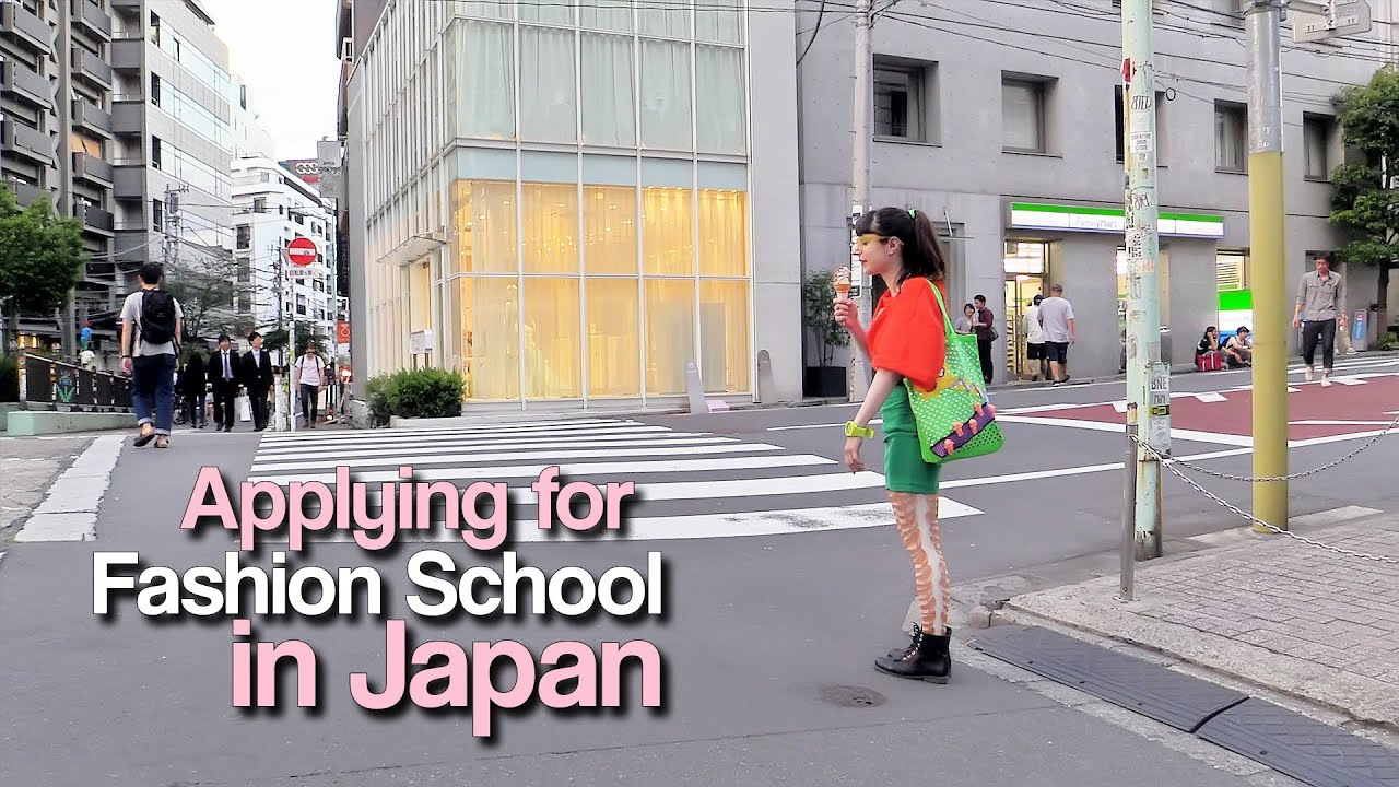 Fashion university in japan